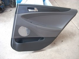2011 2012 2013 2014 HYUNDAI SONATA RIGHT REAR DOOR TRIM PANEL OEM image 1