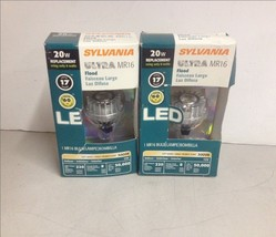 QTY2 Lot Sylvania Ultra LED8MR16 MR16 Indoor Flood LED - $20.00