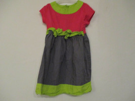 Disney Size 4T Girl's 100% Cotton Pink and Gray Block Color Short Sleeve... - $20.00