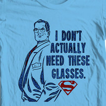 Clark Kent I Dont need Glasses T-shirt Classic Superman DC comics tee SM2136 image 1