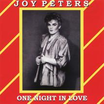Joy Peters – One Night In Love CD - $9.99