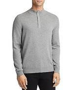 Hugo Boss LIGHT GREY Esilvio Quarter Zip Pullover Sweater, US Small - $68.61