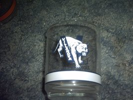 Villanova 4 Inch Basketball Glass Tumbler - $12.73