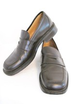 Penny Loafers Kenneth Cole New York Italian Made Square Toe 8 $350 MSRP - $53.46