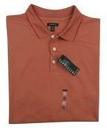 Van Heusen Big & Tall Ottoman Red Guava Striped Polo Shirt Men's 2XLT  M... - $28.21