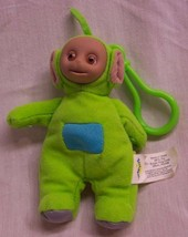 "Burger King Teletubbies GREEN DIPSY KEYCHAIN 5"" Plush STUFFED ANIMAL Toy - $15.35"