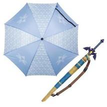 Legend Of Zelda Triforce Sword Umbrella Blue - $35.98