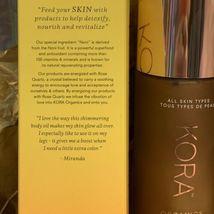 Kora Organics NEW IN BOX SUN KISSED GLOW BODY OIL 3.38fl. oz. SHADE: LIGHT image 7