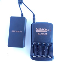 Duracell Rechargeable ACCU 15 Minute AA AAA Batteries Charger CEF15NC 1.... - $17.45