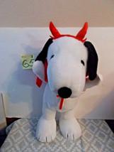 Peanuts Snoopy in Devil Costume, Halloween Door Greeter - $29.99