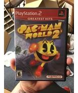 Pac-Man World 2 - No Manual - Sony PlayStation 2 PS2 - $13.09