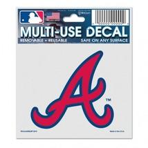Atlanta Braves Decal 3x4 Multi Use**Free Shipping** - $11.82