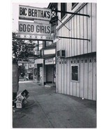 West Virginia Postcard Wheeling Big Bertha's Go Go Girls - $3.79