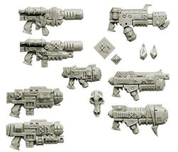 Spellcrow Wolves Space Knights Guns