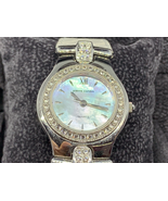 Pierre Cardin Natural Diamond Studded Mother of Pearl Face Watch - $97.47