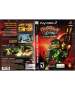 Ratchet & Clank: Up Your Arsenal (Sony PlayStation 2, 2005) with manual - $22.48