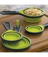 Collapsible Silicone Measuring Cups - 4 In 1 Set - $14.69