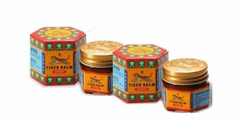 3 X 21ml Tiger Balm Herbal Red Ointment Massage Relief Muscle Pain - $11.87