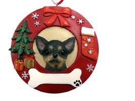 E&S Pets Black Chihuahua Personalized Christmas Ornament - $15.73