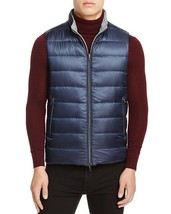 Herno Mens Reversible Down Mixed Vest Gray Navy $620 - $199.99