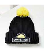 Days Inn Pom Pom Beanie Hat Cap road trip budget motel hotel b&b travel ... - $11.98