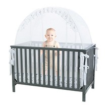 Baby Crib Safety Pop up Tent: Premium Baby Bed Canopy Netting Cover - Se... - $144.00