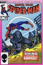 Marvel Tales #183 ORIGINAL Vintage 1986 Marvel Comics Reprints Spiderman 43 - $9.89