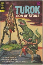 Turok Son Of Stone Comic Book #80, Gold Key 1973 FINE- - $11.18