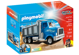New PLAYMOBIL Set No. 5665 City Action  Dump Truck - Free Worldwide Shipping - $57.09