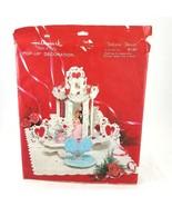 Vintage Hallmark Valentines Day Pop Up Centerpiece Decoration Valentine ... - £43.12 GBP