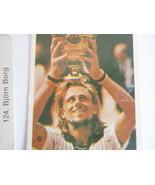 Bjorn Borg Swedish Trading Card Tennis Champion Vintage Lot Sweden - $18.95