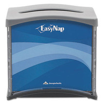 EasyNap Napkin Dispenser, 15 9/10 x 7 12/25 x 6 16/25 Blue/Gray/Black - $10.24