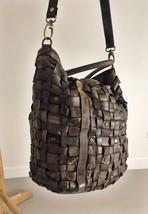 Intreccio 101 handmade woven leather bag  image 7