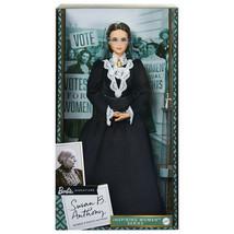 Barbie 2020 Inspiring Women SUSAN B. ANTHONY Doll (GHT84) Black Label - $35.95