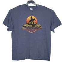 The Marshall Tucker Band Mens 2XL T-Shirt Tour 2019 Graphic Heather Gray... - $24.60