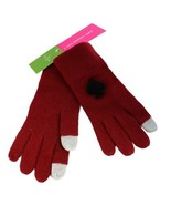 Kate Spade New York women's gloves burgundy one size - $19.59