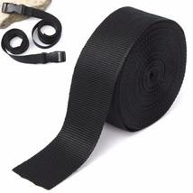5cmx10m Black Nylon Fabric Webbing Tape For Making Strapping Belting Bag... - $21.48