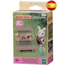Sylvanian Families Family Barbecue Set Mini muñecas y Accesorios, (Epoch... - $23.79