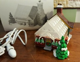 Dept 56 Original Snow Village - 1991 Village Greenhouse - #54020 Retired... - $24.00
