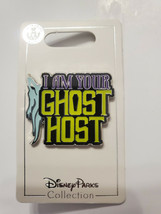 NWT Disney Haunted Mansion I Am Your Ghost Host Pin New OE In Hand - $14.84