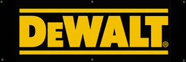 Dewalt power tools Vinyl Banner 2'x5' 13 OZ. Garage or any event  Ready to Hang image 2