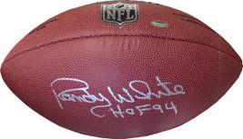 Randy White signed NFL Wilson Replica Composite Football HOF 94  (silver logo) ( - $74.95