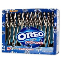 SPANGLER* 12pc Candy Canes OREO FLAVORED 5.3 oz CHRISTMAS/HOLIDAY Exp. 9... - $5.99