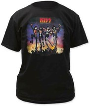 KIss Destroyer Album Cover Adult Men T Shirt Heavy Metal Music - $22.06+