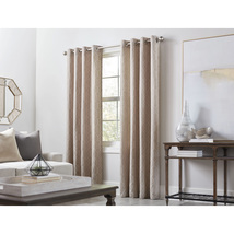 allen + roth Keldgate 84-in Oat Polyester Light Filtering Single Curtain... - $32.88