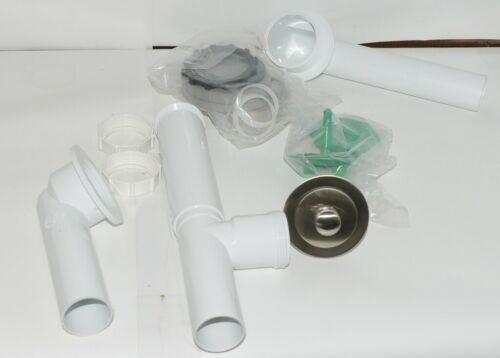 Watco 590 PP PVC BN Brushed Nickel Innovator Push Pull Tubular 16 Inch