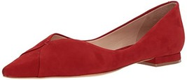 SCHUTZ Women's Sasha Ballet Flat, Tango red, 7.5 M US - $187.16