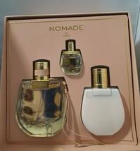 Chloe Nomade Perfume 2.5 Oz Eau De Parfum Spray 3 Pcs Gift Set image 1