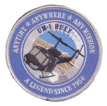 USMC UH-1 HUEY PATCH FULL COLOR- WITH VELCO @ NEW!!! - $11.87