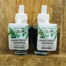 2 Bath & Body Works Rainforest Gardenia Wallflower Bulbs .8 Fl Oz - $21.78